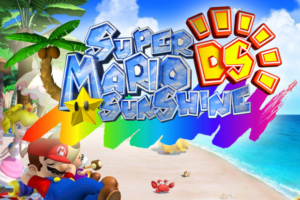 Super Mario Sunshine Unofficially Ported To Nintendo Ds In Super Mario 64 Ds Rom Hack 16 Bit World
