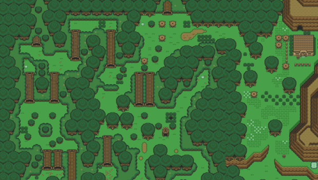 The Legend Of Zelda A Link To The Past Live Map 16 Bit World